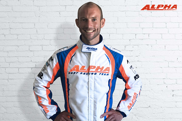 Alpha Karting is very pleased to welcome Bas Lammers as official driver!