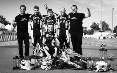 Winner of the FIA 24H LEMANS ENDURANCE KARTING CHAMPIONSHIP!!