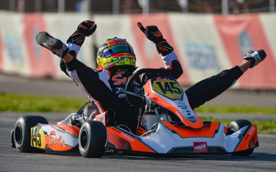 Great victory at Sarno and double in the WSK Super Master Series,