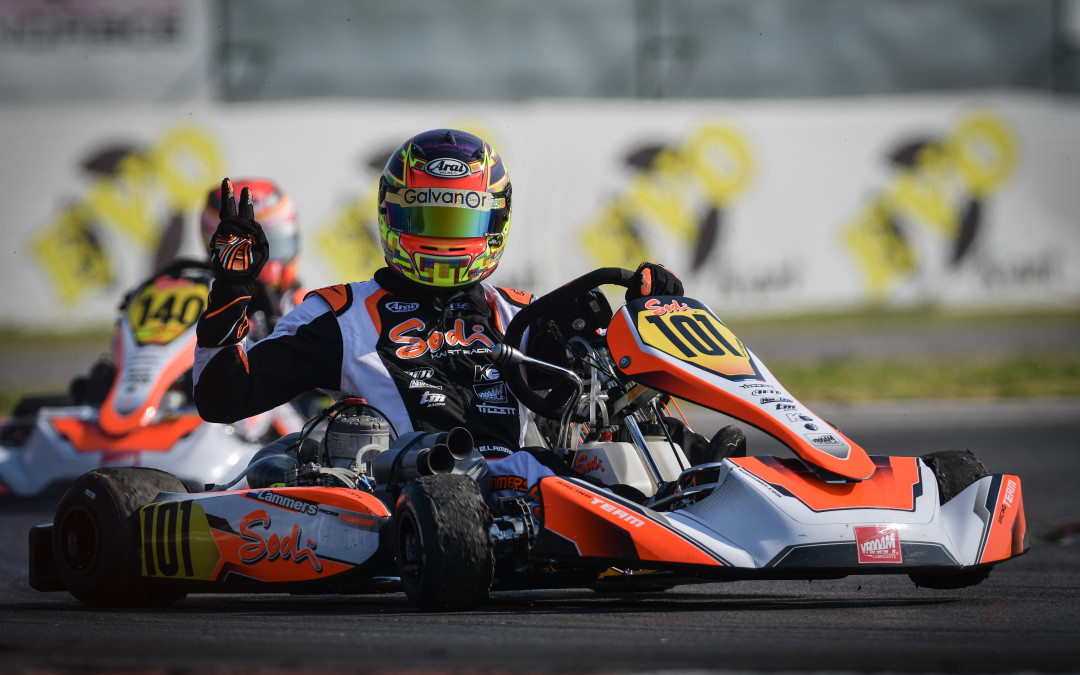Neapolitan double podium at the opening of the WSK Euro Series,